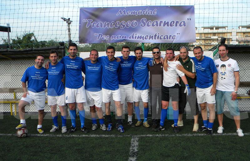 La squadra vincitrice