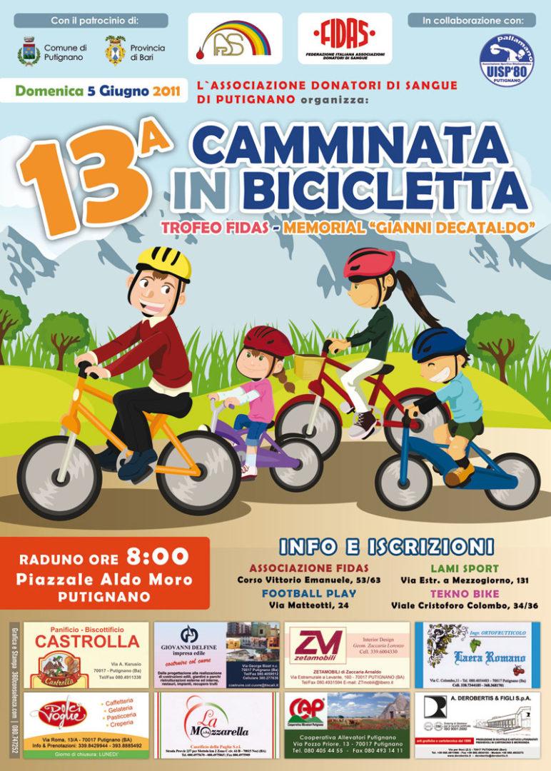 manifesto-camminata-bicicletta-50x70
