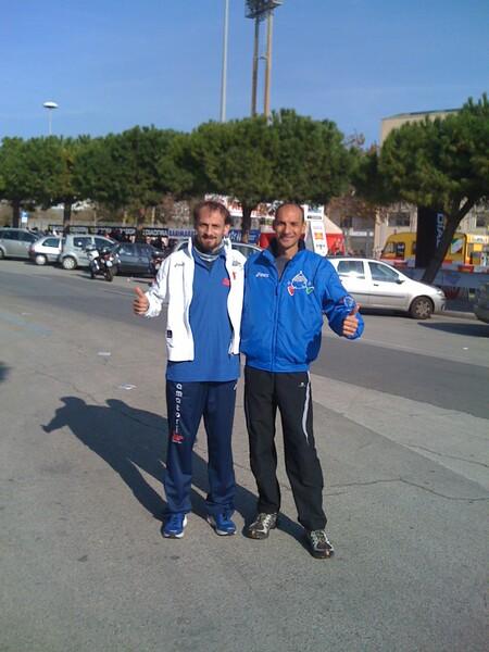 amatori_Intini_e_Derobertis_alla_Maratona_di_Bari