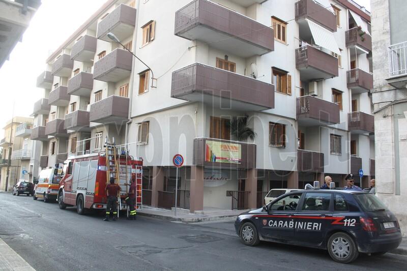 pompieri salvano centenaria