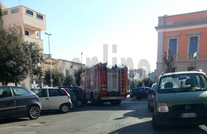 vigili del fuoco San Filippo Neri