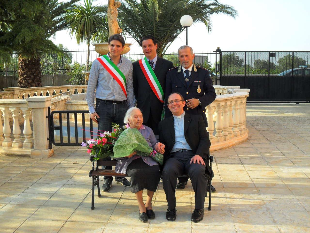 Il 106° compleanno di nonna Grazia Larizza