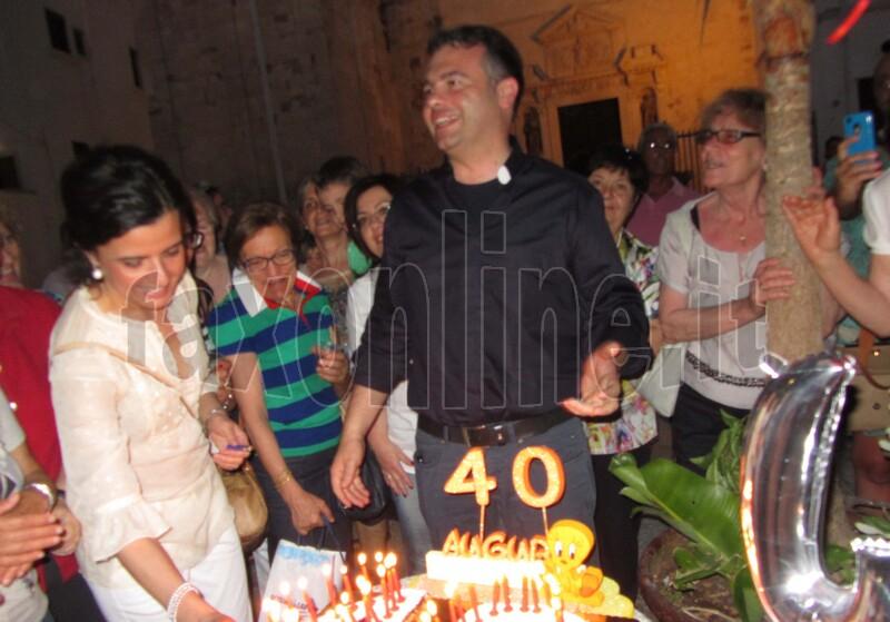 festa compleanno 40 anni don Gaetano 2