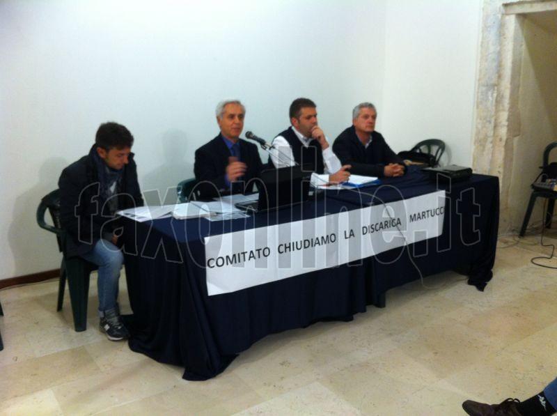 comitato chiudiamo la discarica 5 aprile 1