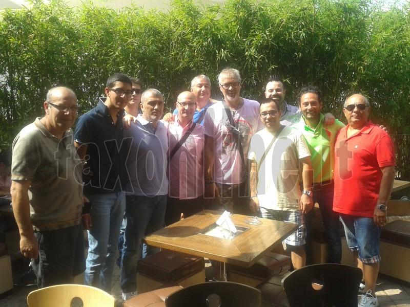 Tacconi e dirigenza Castellana Calcio