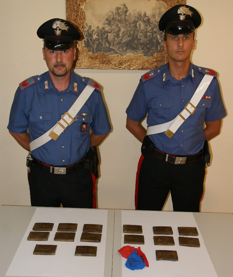 sequestro hashish santa lucia