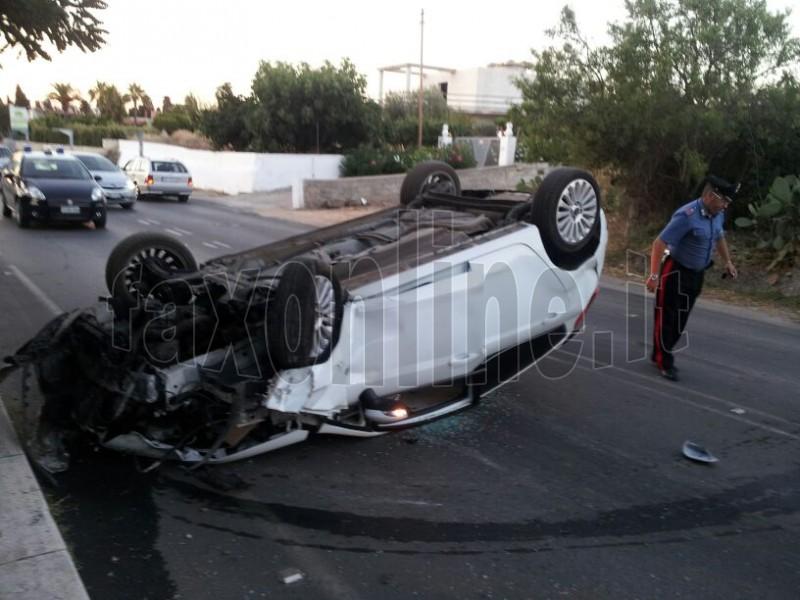 viale aldo moro incidente 1