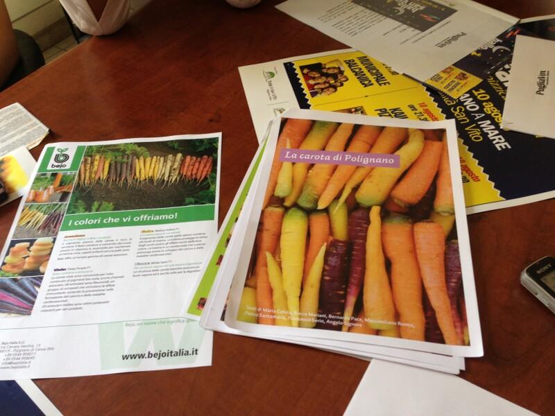 carota di san vito- convegno