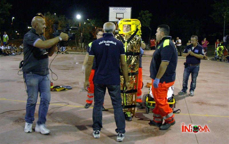 26 luglio - oratorio di San Domenico - simulazione di 1 soccorso - rangers e vivi la strada 11