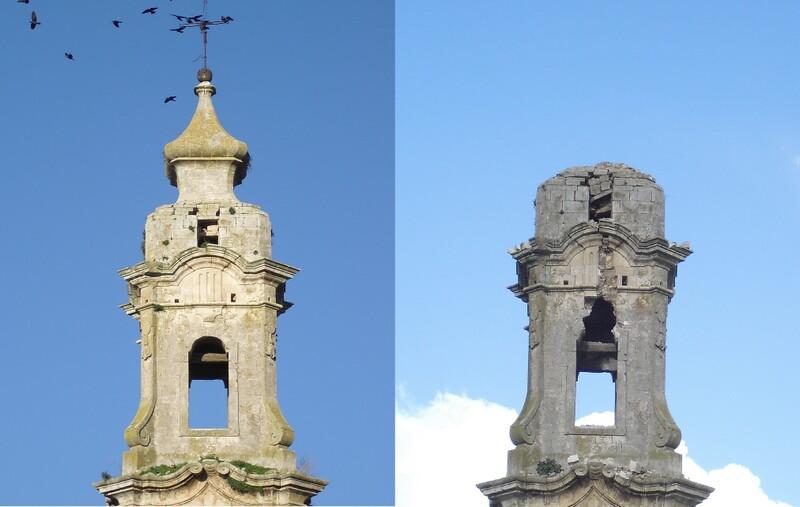 Noci - Il campanile della Chiesa Madre