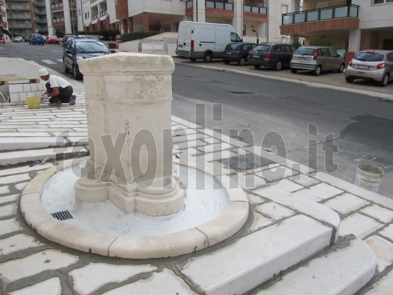 fontana santantonio ristrutturata