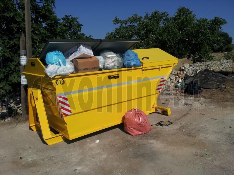 raccolta rifiuti campagna vasca