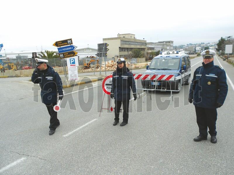 varco polizia municipale