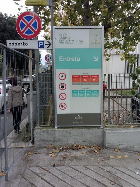 parcheggio hermes