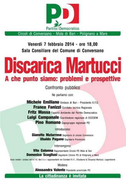 manifesto pd-discarica martucci