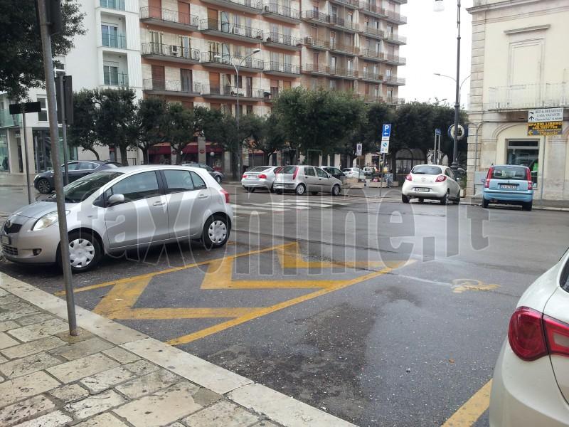 parcheggio disabili comune