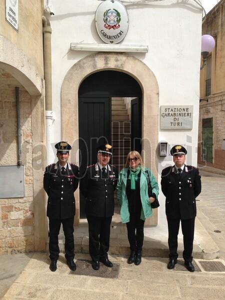 visita colonnello carabinieri-turi