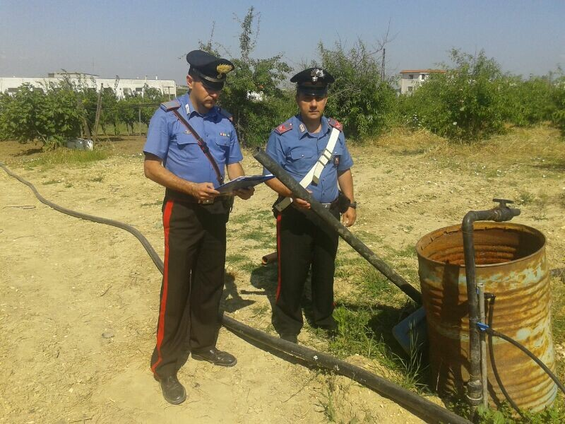 arresto acqua potabile-rutigliano