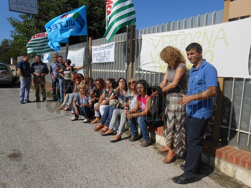 protesta giovanna sbiroli