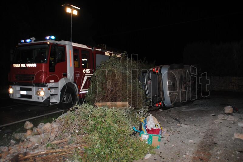 incidente strada provinciale-castellana 1