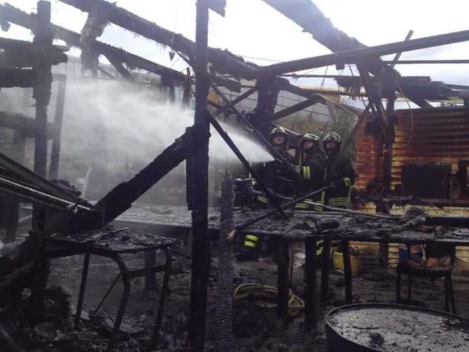 incendio capannone agricolo