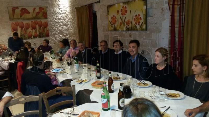 cena degli abitanti di contrada Rosario 1