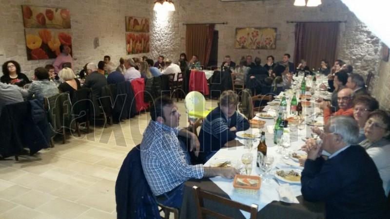 cena degli abitanti di contrada Rosario 2
