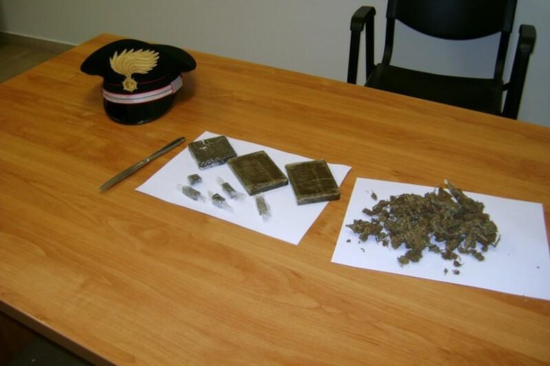 occultava droga arrestato-putignano