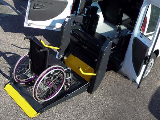 pulmino disabili