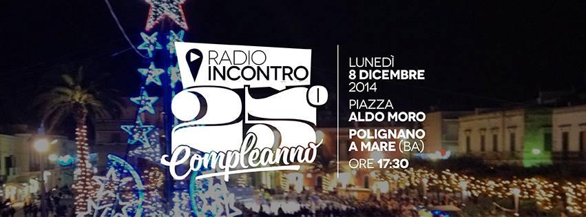 Radio Incontro festeggia i suoi primi 25 anni