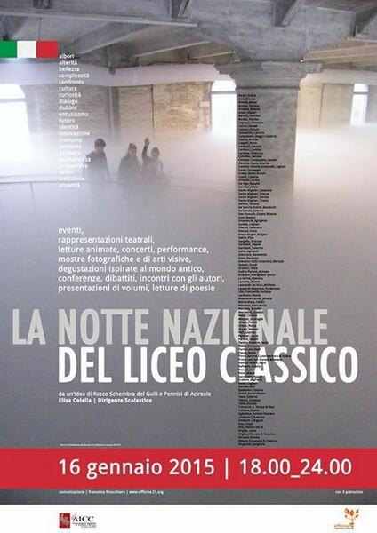 Polignanesi alla Notte Bianca del Domenico Morea per  difendere la cultura classica