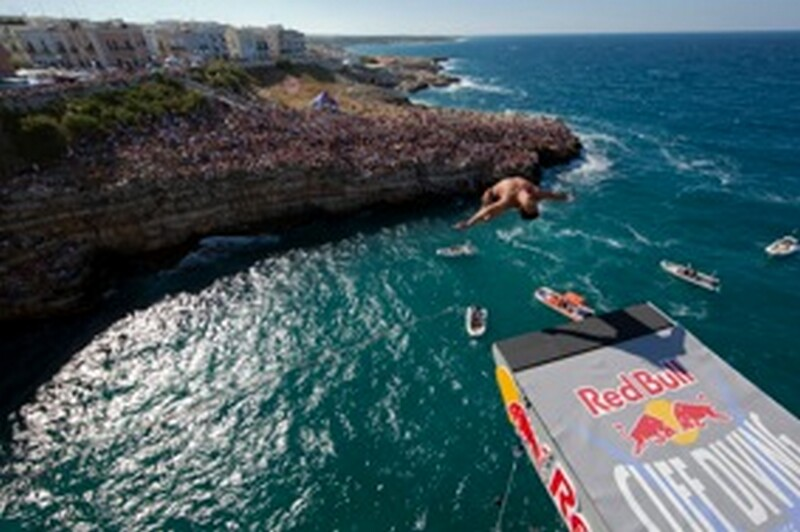 Red Bull Cliff Diving Polignano a mare 3