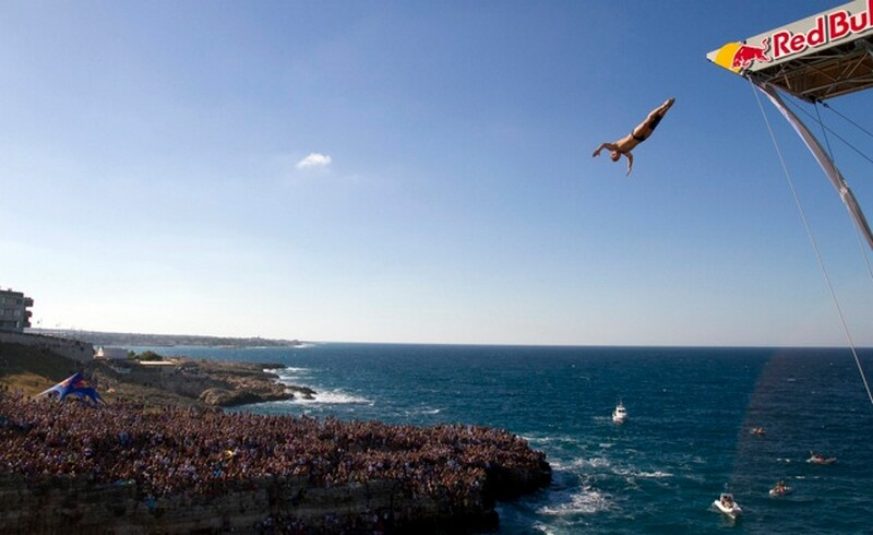 Red Bull Cliff Diving Polignao a mare 1