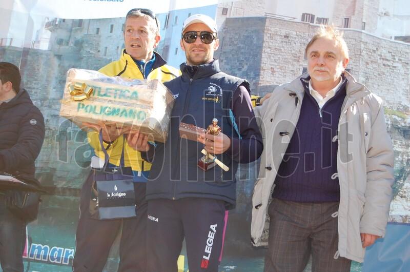 VI CorsAmare 2015 primo arrivato vince trofeo  pescarello