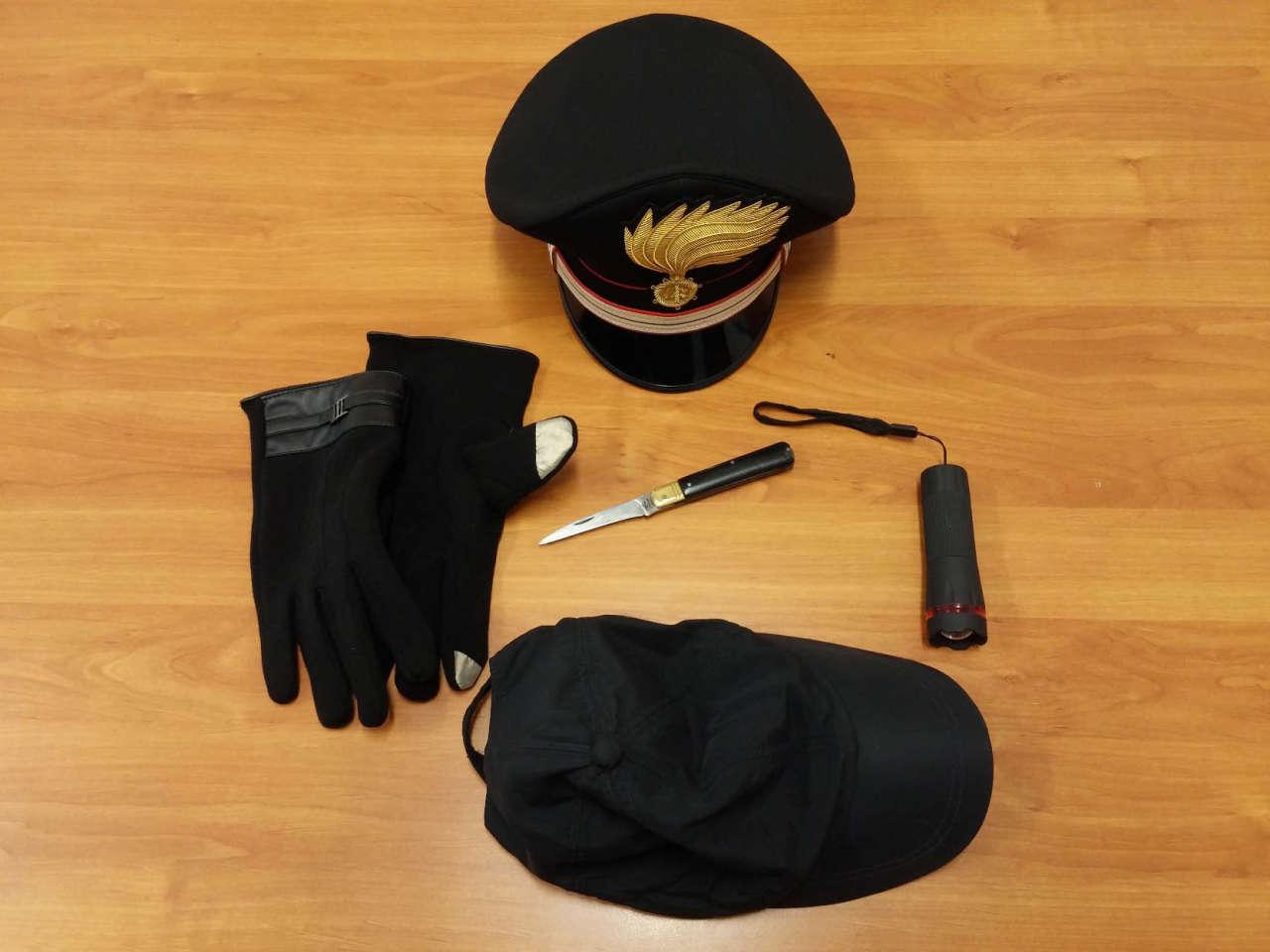 furto carabinieri