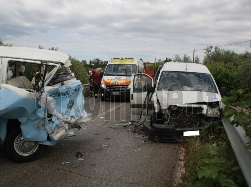 incidente via casamassima