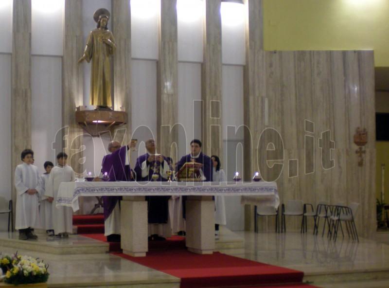 Sacro Cuore don Donato e mons Padovano