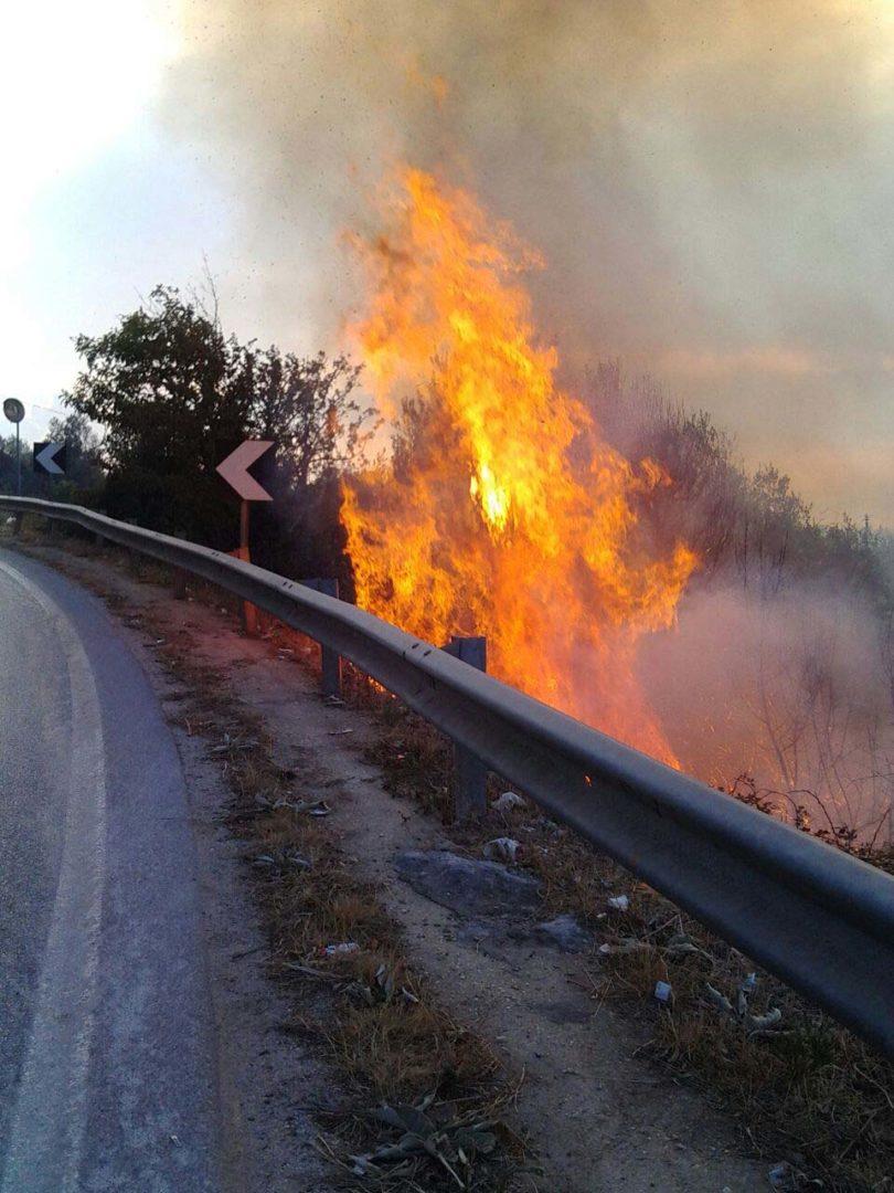 incendio san materno