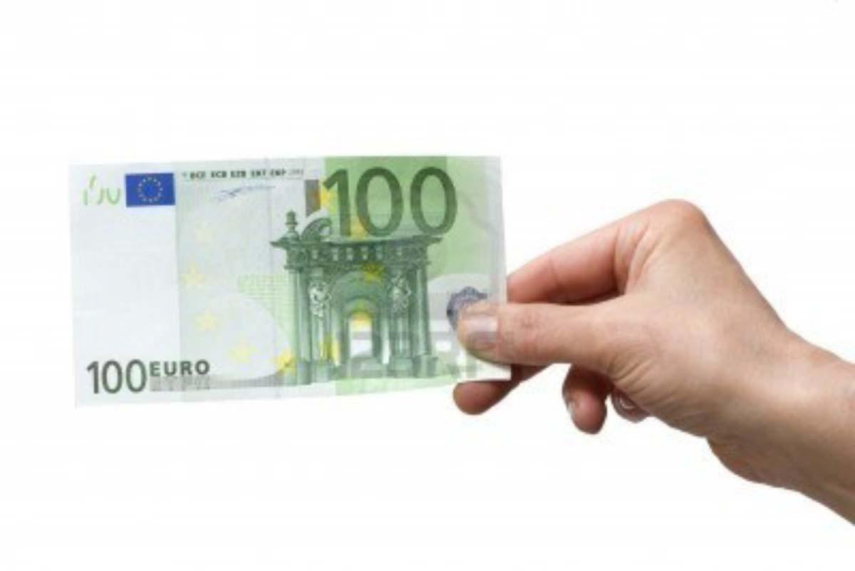 cento euro falsa