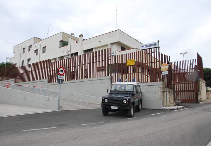 La Stazione Carabinieri di Noci