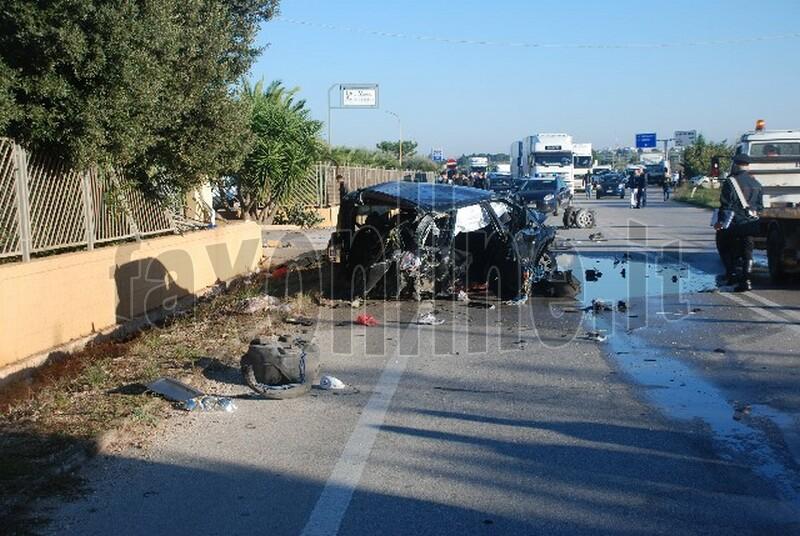 incidente via rutigliano 04-11