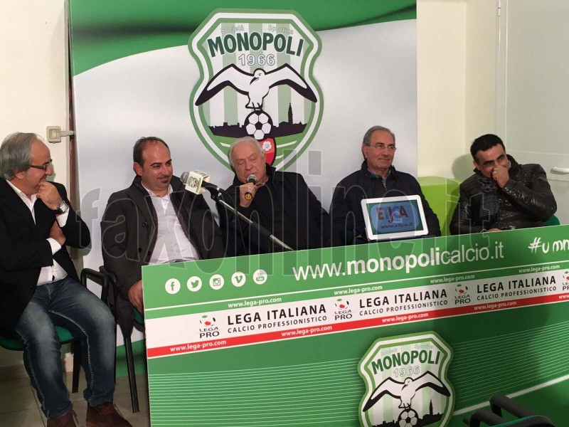 Lopez socio del Calcio Monopoli