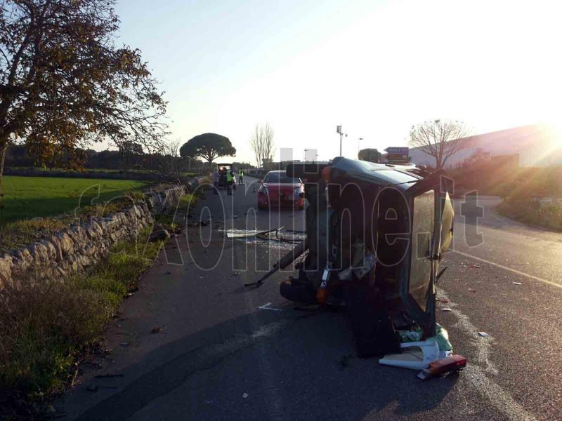 Incidente via Noci