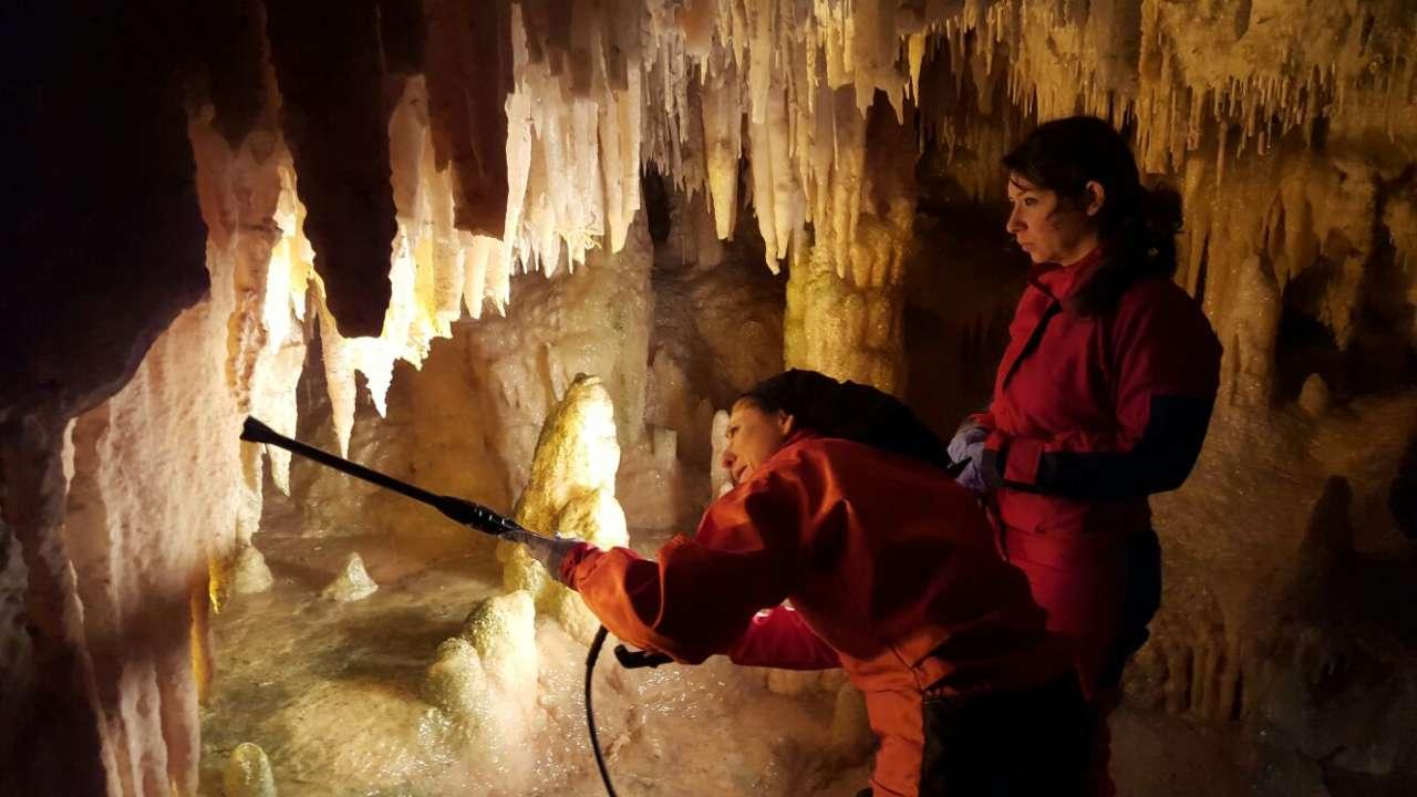 pulitura grotte