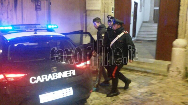 arrestato ladro contrade2