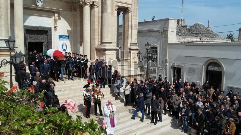 funerale carabiniere