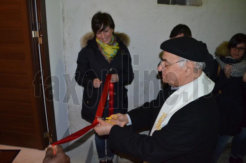 inaugurazione casa del rifugiato