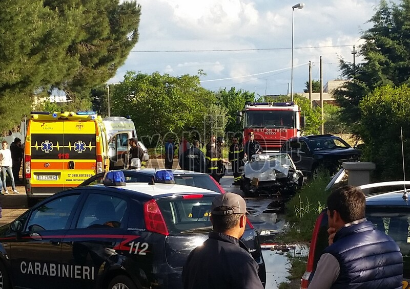 incidente via putignano