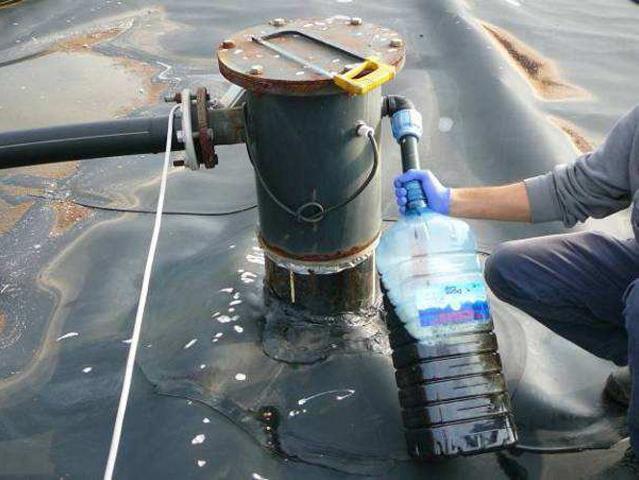 pozzo estrazione biogas