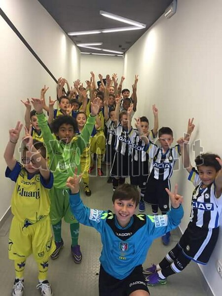 Soccer School un week-end con  lUdinese 1